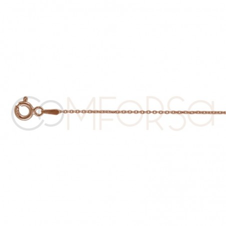 Gold plated Sterling silver 925ml forçat chain 40 cm