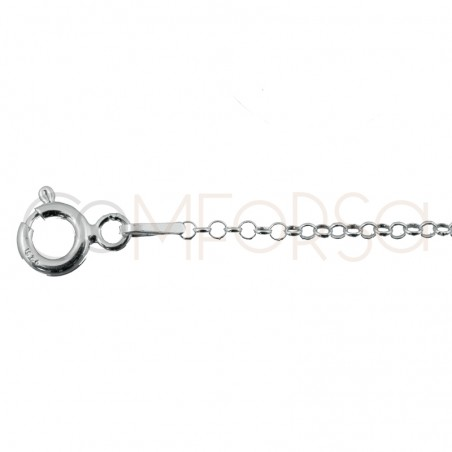 Sterling silver 925ml rolo chain 1.5 mm