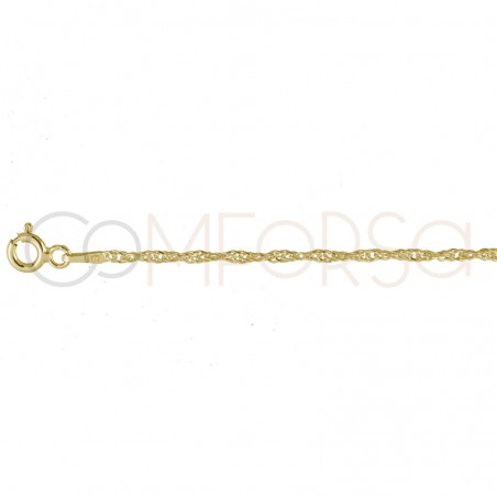 Sterling silver 925 singapore chain 2.2mm
