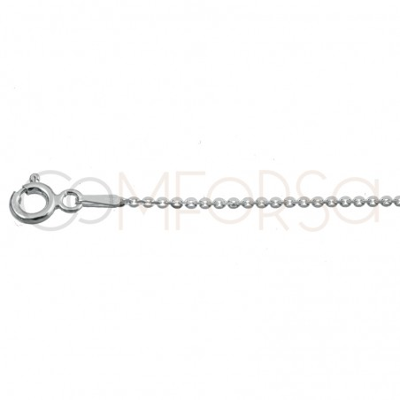 Sterling silver 925 forçat chain 2 x 1.5 mm