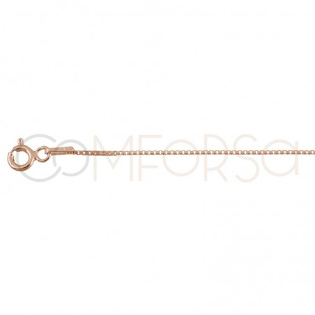Gold plated Sterling silver 925ml 1 mm venetian chain