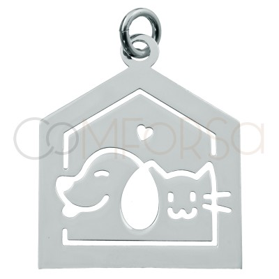 Sterling silver 925 house...