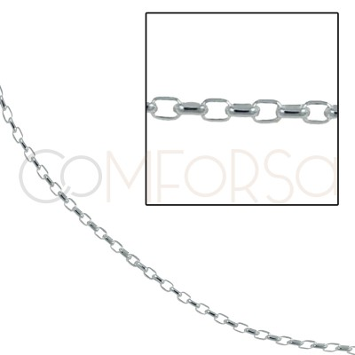 Sterling silver 925 oval...