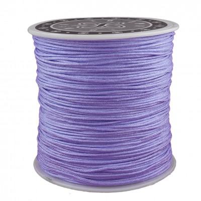 Braided nylon 0.8mm lilac