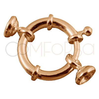 Rose Gold-plated Spring...