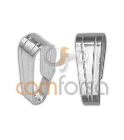 Anilla colgante 4 x 10mm plata 925ml