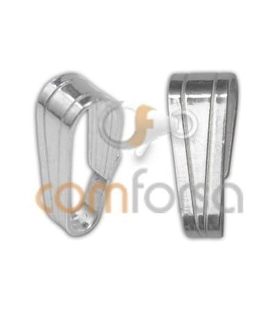 Anilla colgante 3 x 7mm plata 925ml