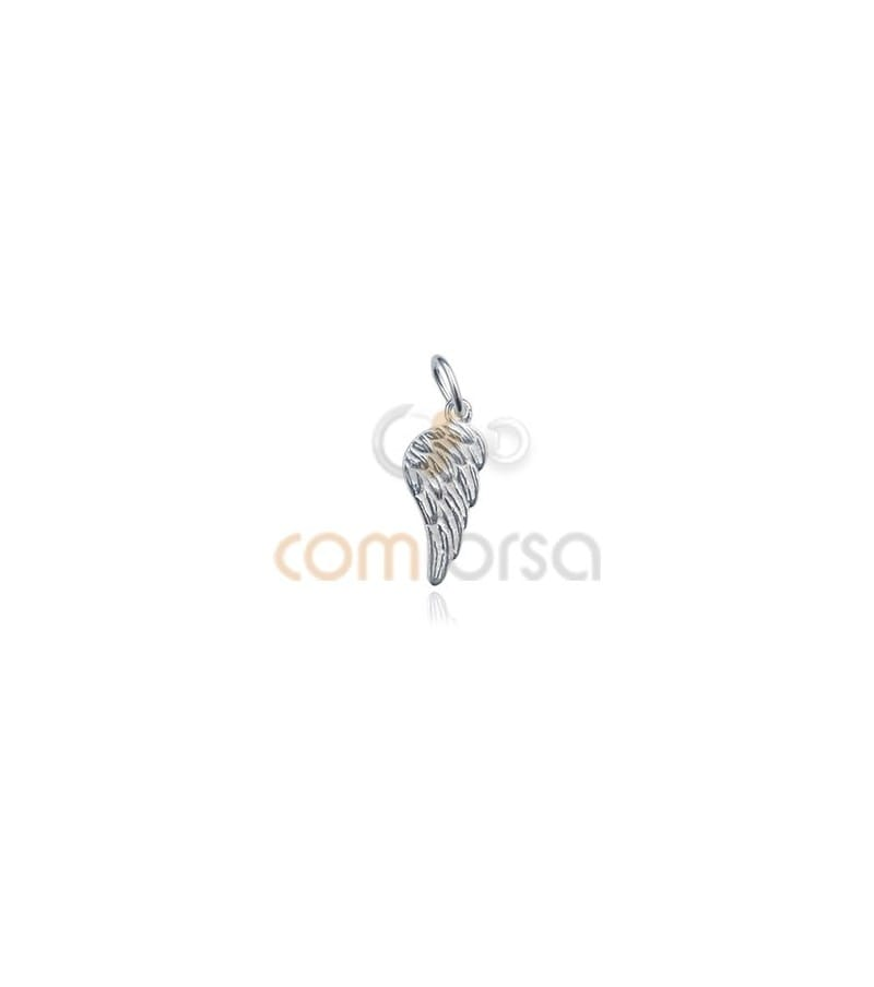 Sterling Silver 925 Wing Pendant 7x16mm