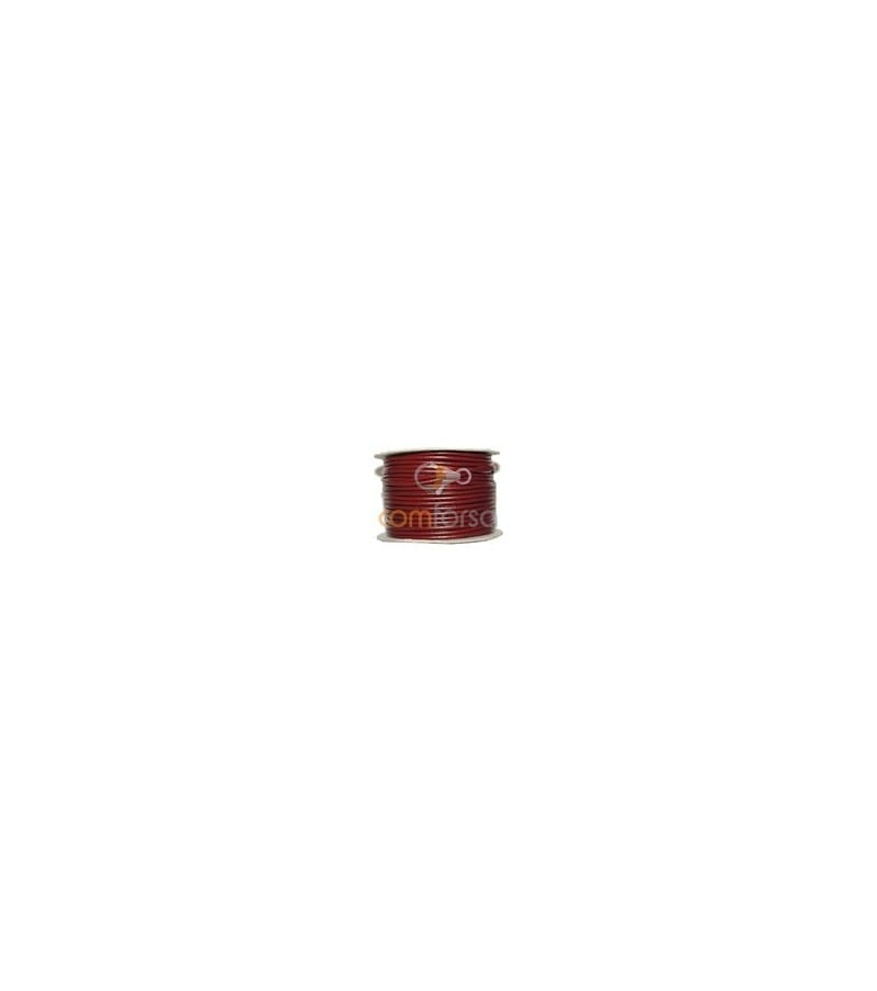 Deep Red Leather 3mm RQegular quality