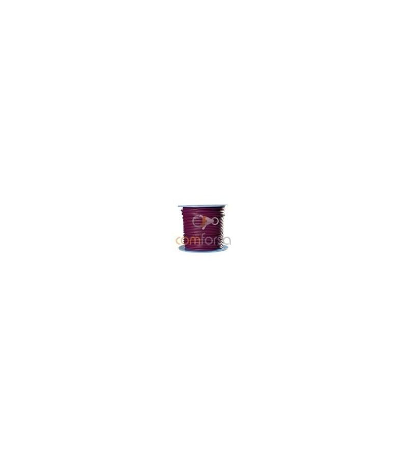 Purple Iris Leather 5mm Regular Quality