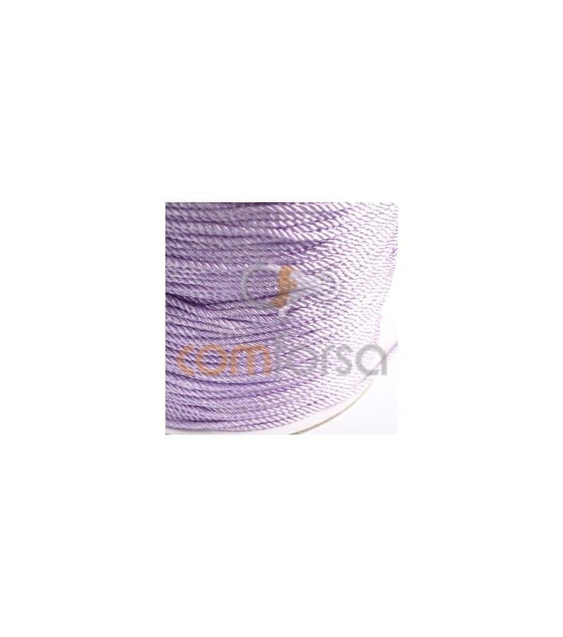 TE- Hilo algodón Lila 2 mm