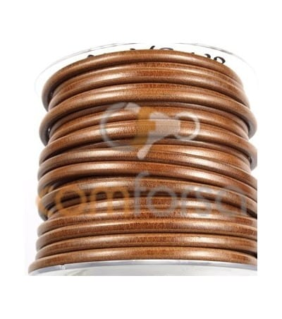 Light Brown Leather 5mm