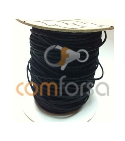 Black Nylon Cord 1mm (meters)