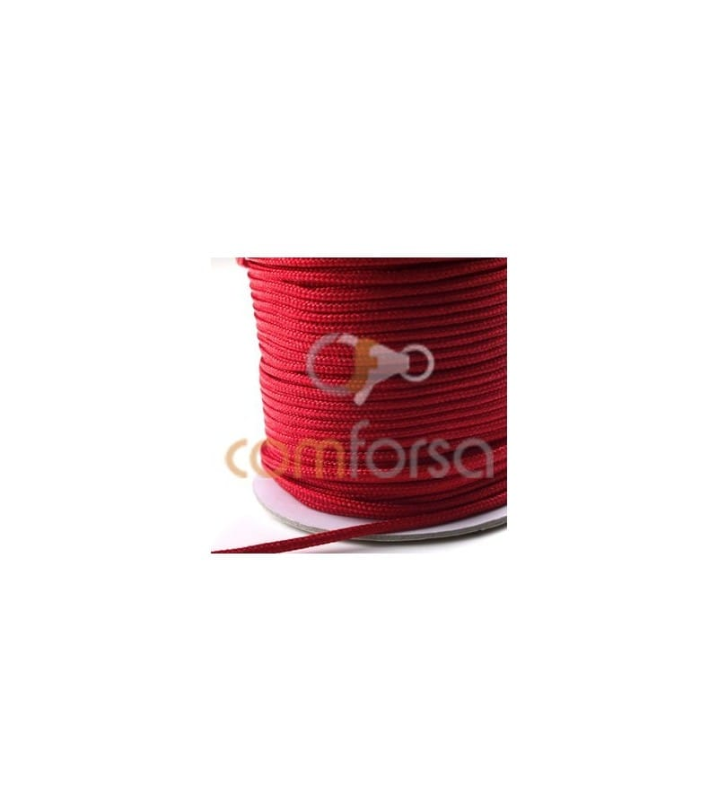 Red Nylon Cord 2mm (meters)