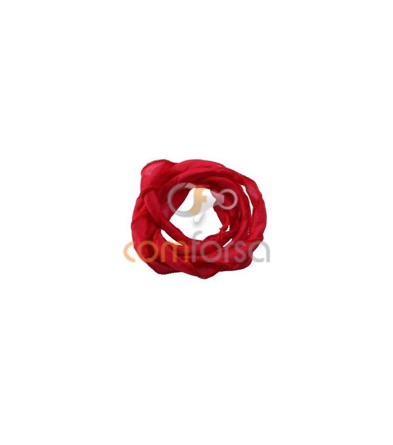 Red Thai Silk