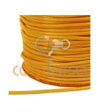 Cordón encerado naranja 1.2 mm