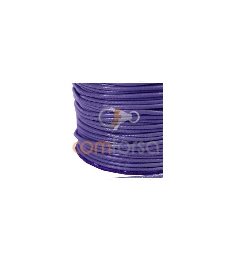 Purple Waxed Cord 2mm