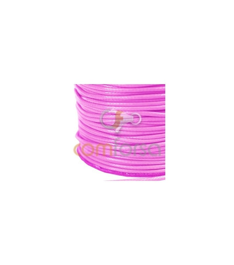 Fuchsia Waxed Cord 2mm