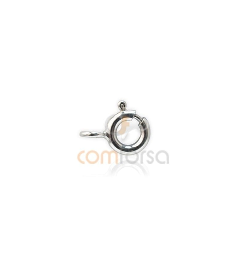 Sterling silver 925 Bolt ring 5.5 mm extra weight