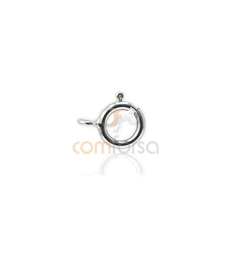 Reasa 6 mm ligera plata 925