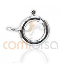 Sterling silver 925 Bolt ring 6 mm extra wieght