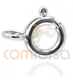Sterling silver 925 Bolt ring 7 mm extra weight