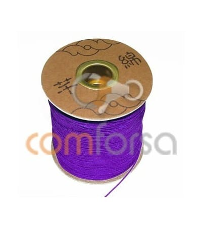 Purple Nylon Cord 1mm (meters)