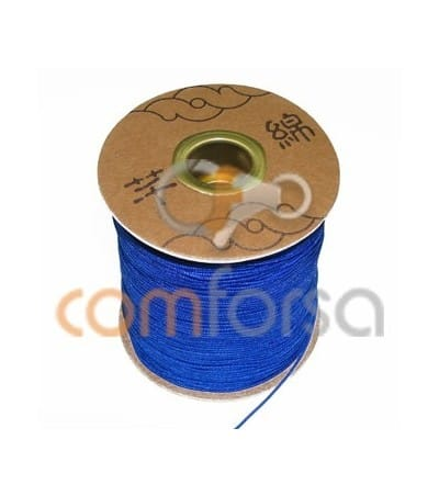 Electric Blue Nylon Cord 1mm (meters)