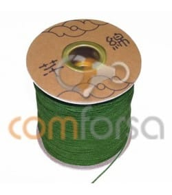 Green Nylon Cord 1mm (meters)