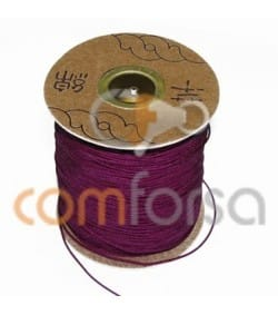 Deep Red Nylon Cord 1mm (meters)