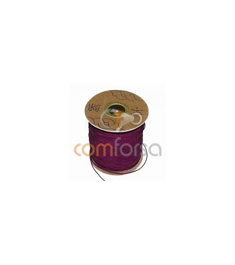 Deep Red Nylon Cord 1.5mm (meters)