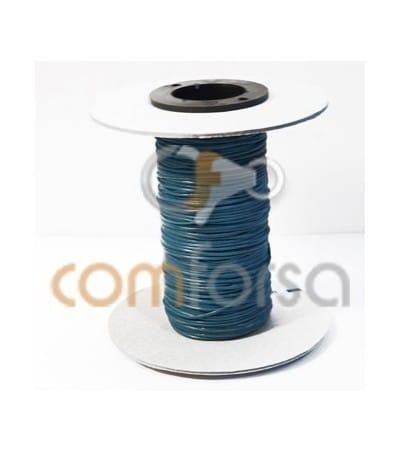 Cuero turquesa 1 mm Calidad premium