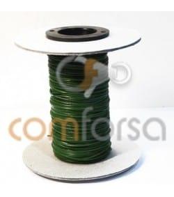 Cuero verde 1 mm Calidad premium