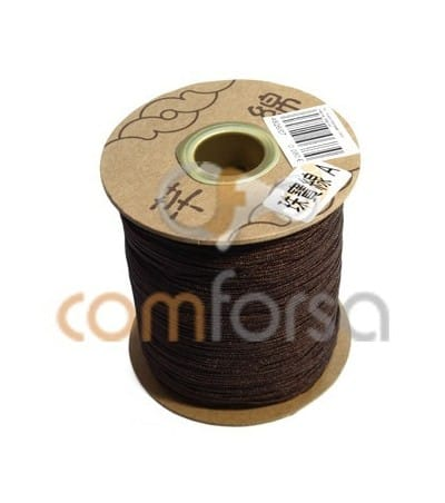 Dark Brown Nylon Cord 1mm (meters)