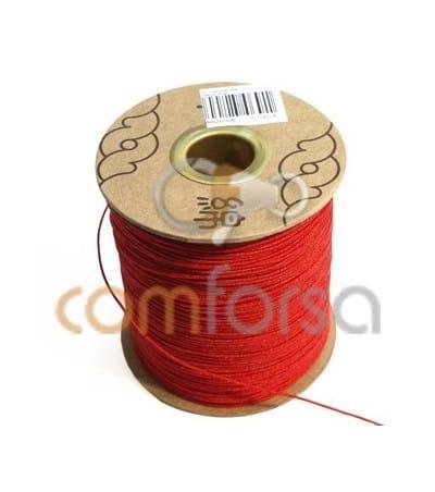 Nylon trenzado Rojo 1mm