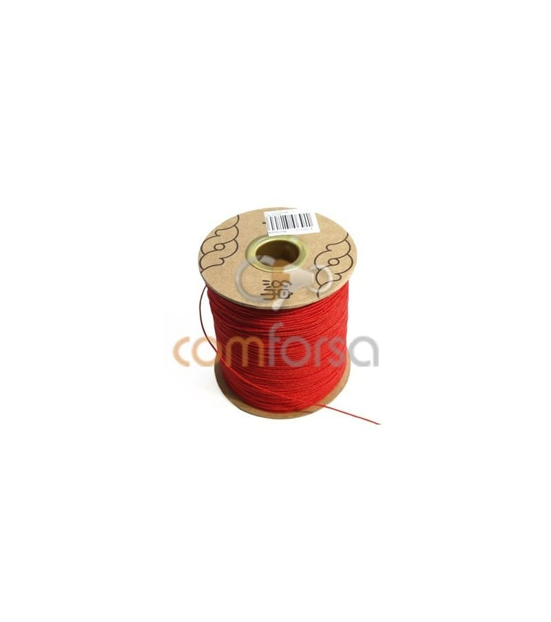 Red Nylon Cord 1mm (meters)