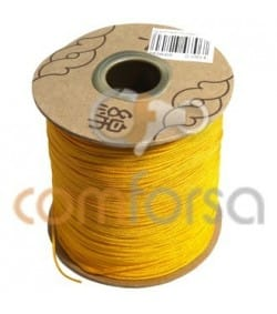 Yellow Nylon Cord 1mm (meters)