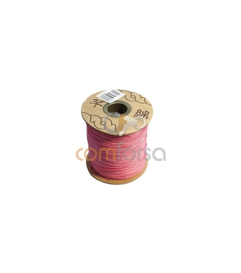 Pink Nylon Cord 1mm (meters)