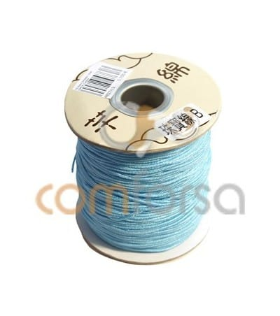 Sky Blue Nylon Cord 1mm (meters)
