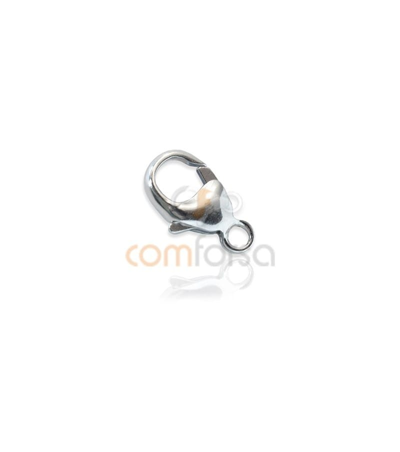 Sterling silver 925 Round lobster  11 mm