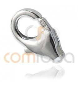 Sterling silver 925 Trigger lobster clasp 8 x 13 mm