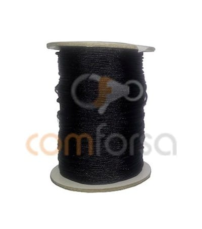 Braided Nylon 0.5mm (sold per meter) Black