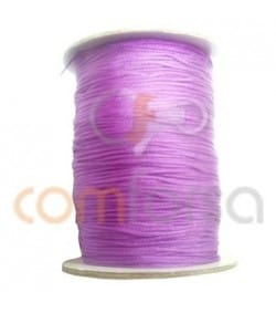 Braided Nylon 0.5mm (sold per meter) Purple