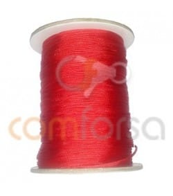Braided Nylon 0.5mm (sold per meter) Red