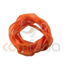 Orange Thai Silk