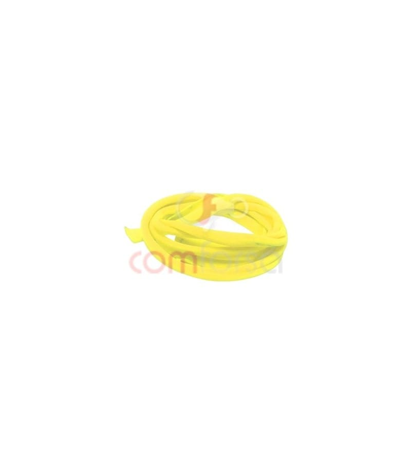 Elastic Ribbon Fluorescent Yellow