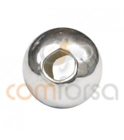 Sterling silver 925 smooth ball 5mm