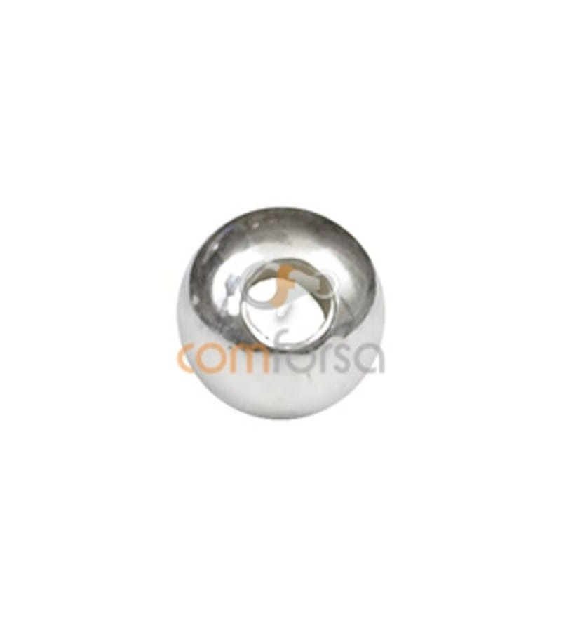 Sterling silver 925 smooth ball 4 mm