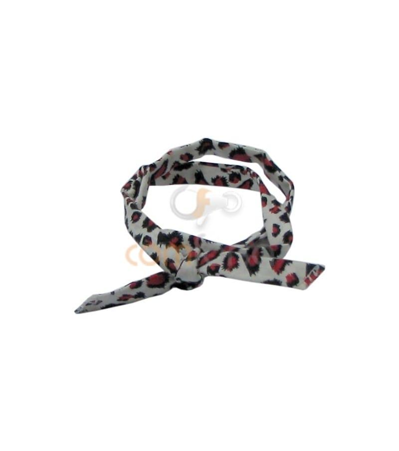 Black/Red Ribbon 63cm