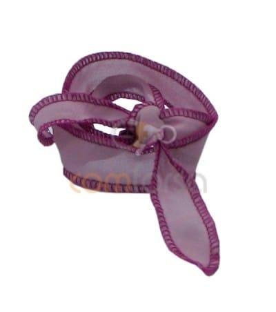 Seda thai ribeteada rosa/fucsia 60 cm